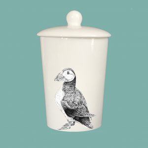 Storage Jar Puffin