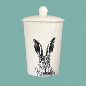 Storage Jar Solemn Hare