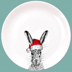 Christmas Sassy Dinner Plate