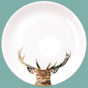 Gold majestic dinner plate