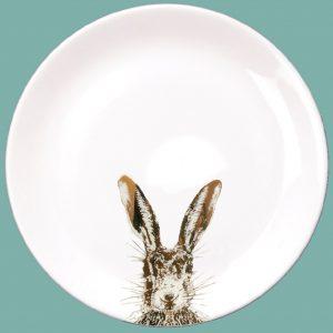 Gold sassy dinner plate