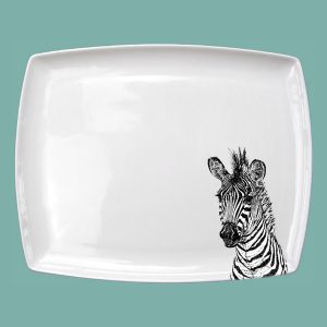 Zebra large breakfast platter