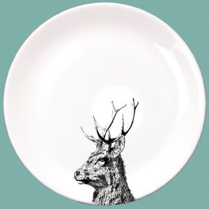 Imperial Stag Dinner Plate