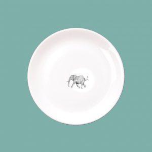 NIM Elephant Side Plate