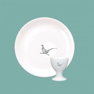 NIM Pheasant Egg and Soldiers Set