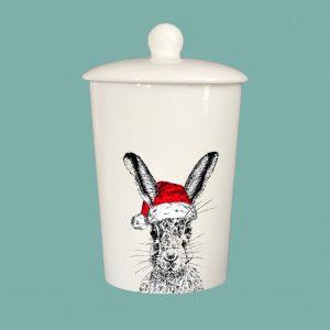 Storage Jar Christmas Sassy