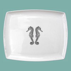 Seahorse Large Breakfast Platter Double